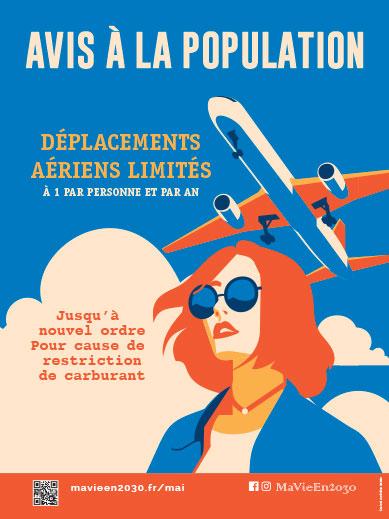 Restrictions sur les déplacements aériens