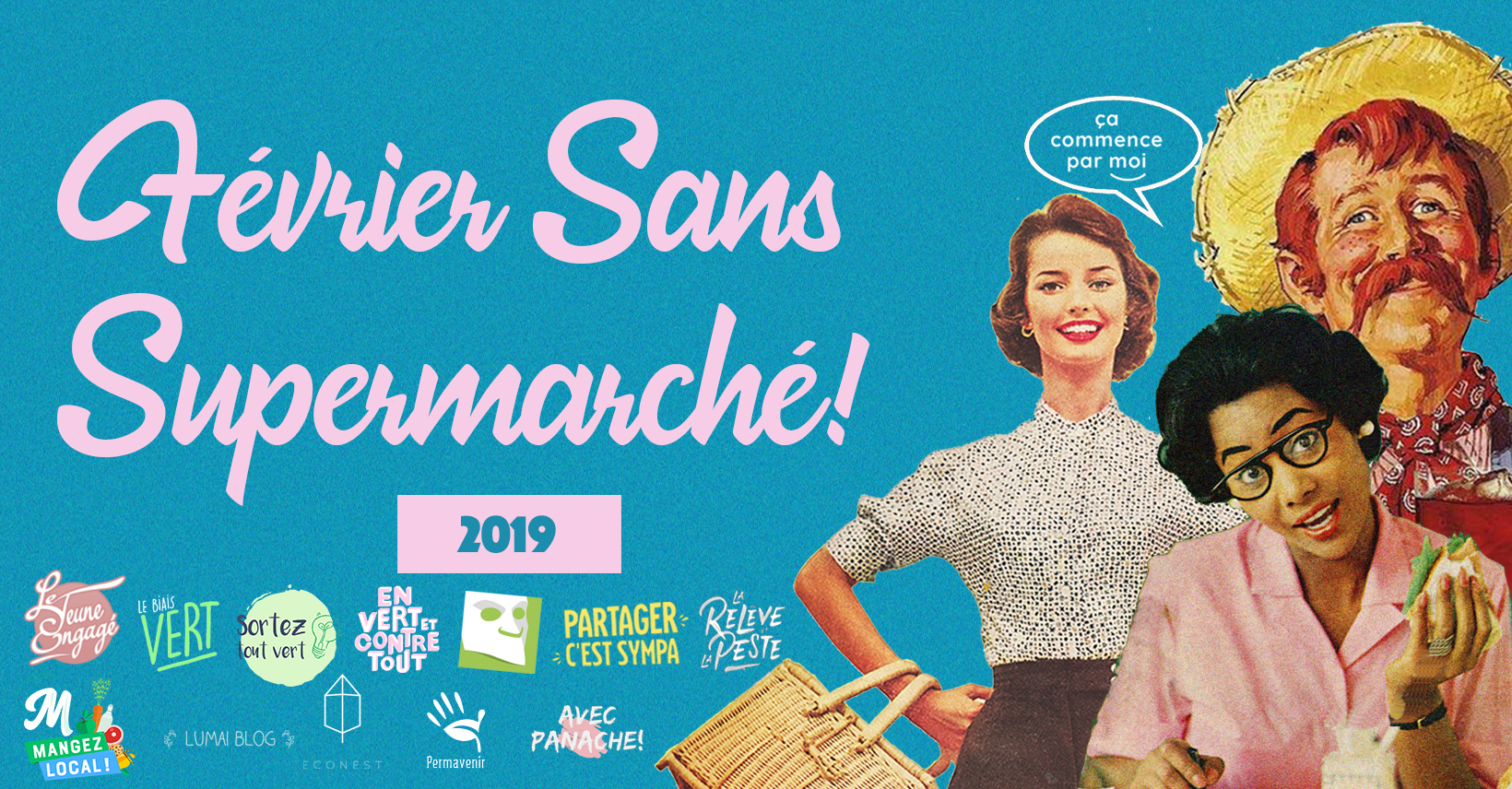 """3e ÉDITION DU DÉFI """"FÉVRIER SANS SUPERMARCHÉ"""" - En vert et contre tout"""