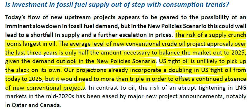 Pic pétrolier probable d'ici 2025, selon l'Agence internationale de l'énergie
