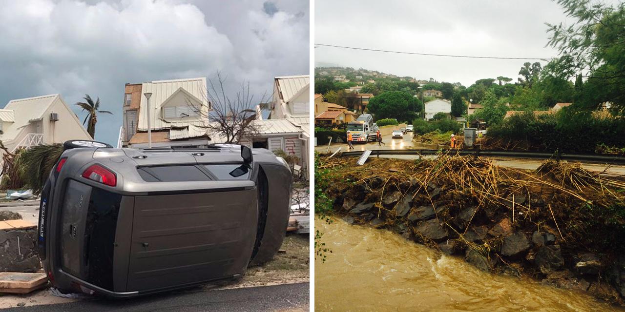 """Catastrophes naturelles : """"à un moment donné, les assureurs vont dire stop"""""""