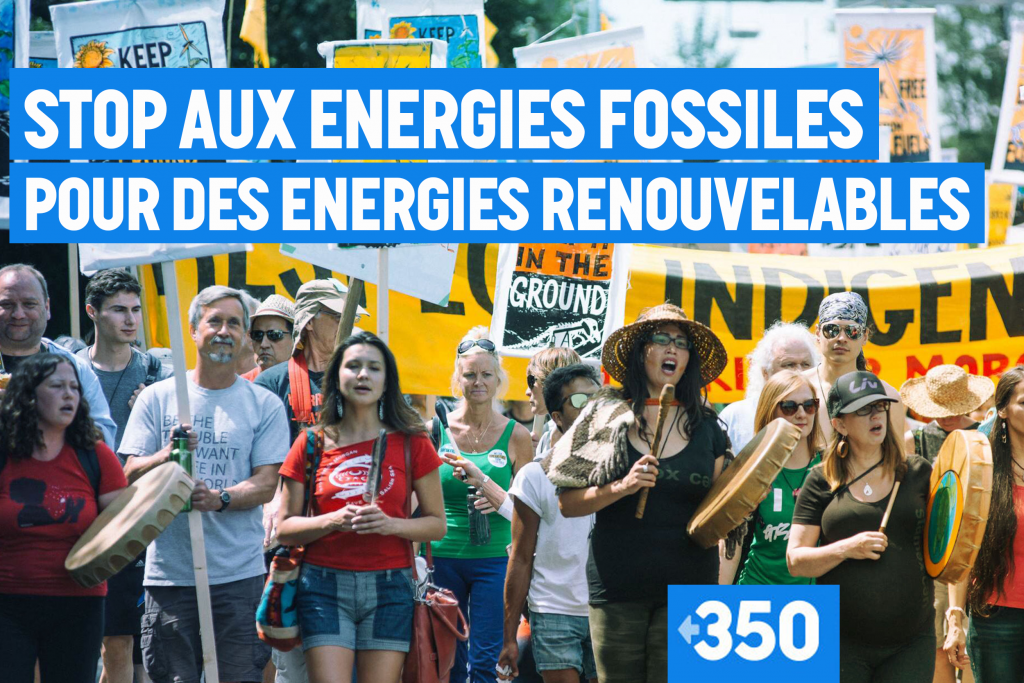 Une campagne mondiale de lutte contre la crise climatique
