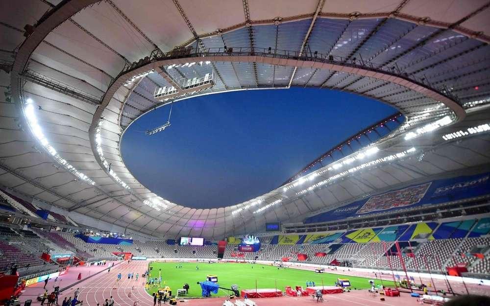 """Mondiaux d'athlétisme à Doha: le stade climatisé à ciel ouvert est une """"aberration"""""""