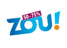 Jusqu'à -75% sur tous trajets TER en Région Sud avec ZOU ! 50-75%