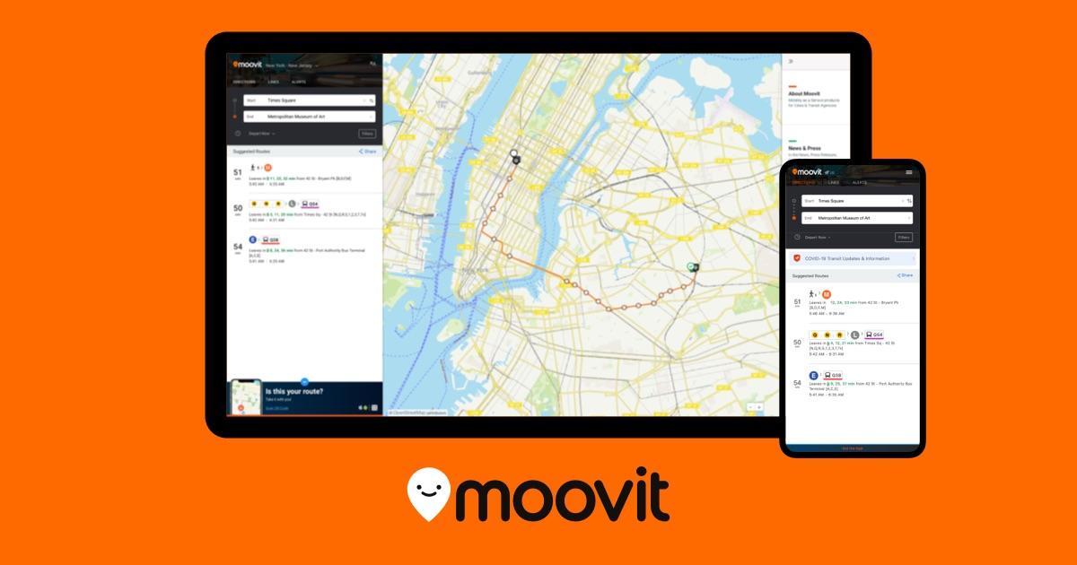 Moovit: Real Time Worldwide Public Transit App