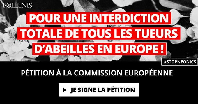 POUR UNE INTERDICTION TOTALE  DE TOUS LES TUEURS D'ABEILLES EN EUROPE !